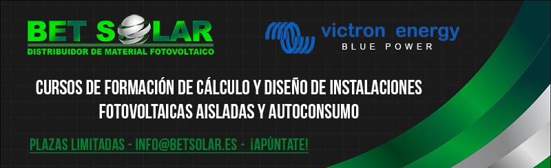 apuntate cursos victron energy