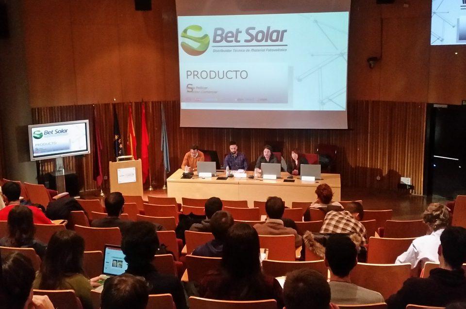 Conferencia Fotovoltaica Carlos III Madrid