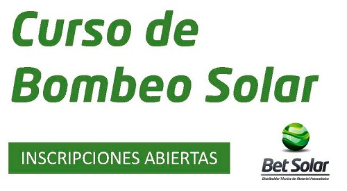 Curso Bombeo Solar