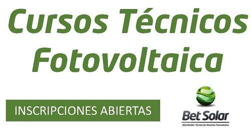 cursos técnicos fotovoltaica